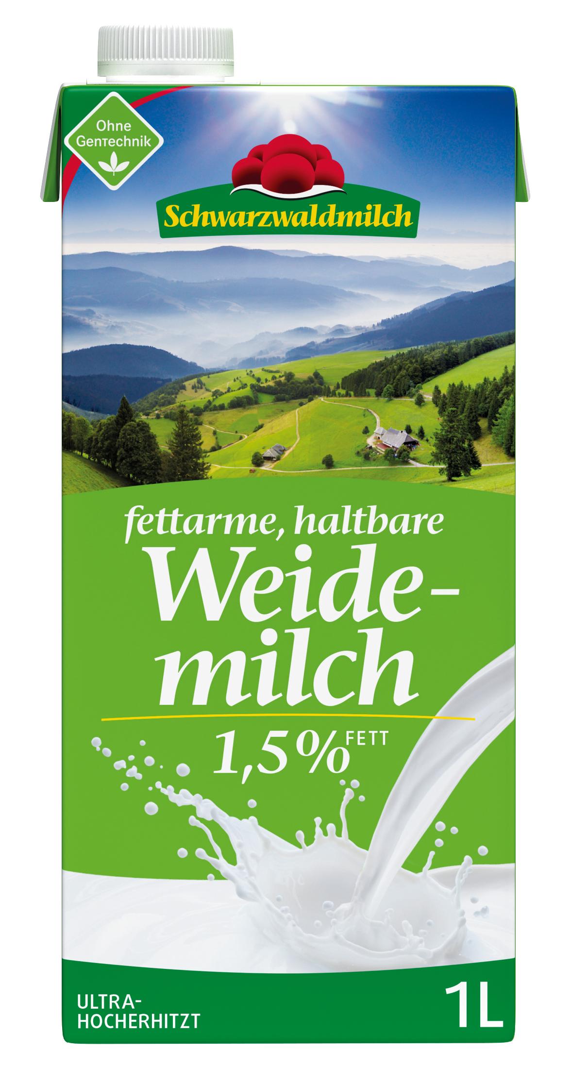 Schwarzwaldmilch 1,5 %